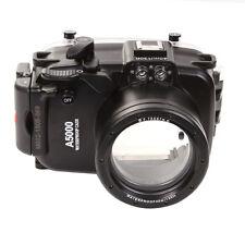 40M Waterproof Housing for Sony A5000 NEX-3N Camera 16-50mm Lens Underwater Case