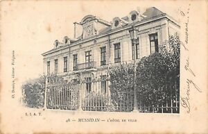 CPA 24 MUSSIDAN HOTEL DE VILLE