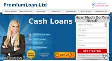Payday Loans Affiliate Site - Up To $220 Per Lead - Huge Market