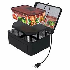 Portable Oven Personal Food Warmer for Prepared Meals Reheating & Raw Black New