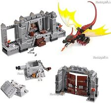 Lego Dragon and The Mines of Moria Mountain (No Minifigure No Box) 9473 NEW