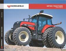 Farm Tractor Brochure - Versatile - 190 220 - MFWD - 2009 (F2899)