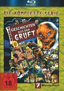 Geschichten aus der Gruft (kompl. Serie / Staffel 1-7 BR) Blu-Ray