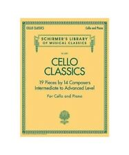 """ Cello Classics: Schirmer Library of Classics Volume 2081 Intermediate to Advan"