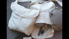 Civil War Federal Contract Haversack, Blue lined cotton duck