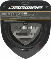 Jagwire Road Elite Sealed Shift Cable Kit For Sram/Shimano, Black