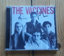 The  Vaccines Come of age CD Fully signed