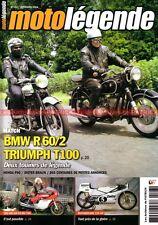 MOTO LEGENDE 193 MV AGUSTA 750 S BMW R60/2 TRIUMPH T100 MOTOBECANE 125 HONDA P50