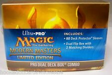 1 Ultra Pro MTG Modern Masters Pro Dual Deck Box Combo Limited Edition