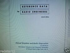 Reference Data for Radio Engineers 2nd & 4th Editions on  CD