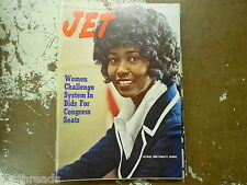 JET MAGAZINE - September 28, 1972 - Women Challenge System in Bids For Congress