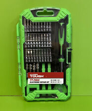Hyper Tough 77 Piece Electronic Repair Kit with Storage Case TS85134A