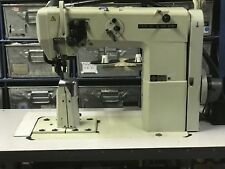 Seiko PWB-8GW-1 Industrial Post Sewing Machine with Mitsubishi needle pos motor.