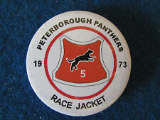 Speedway Insignia-Peterborough Panteras - 1973 Race Chaqueta
