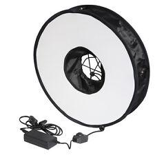 LIFE OF PHOTO Dimmbare LED-Ringleuchte 45cm Fotoleuchte Studio-Leuchte Ringlicht