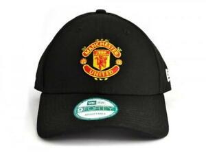 Manchester United FC  - New Era 9Forty Black Crest Cap