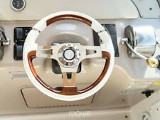 MÖWE Marine Boat Steering Wheel Konstanz White For With Teleflex Ultraflex