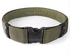 Army Green Heavy Duty Tactical Belt Nylon Hunting Buckle Security Military T2