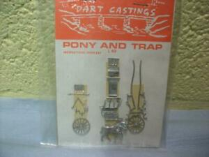 Pony & Trap Kit By Dart Castings No L49 1:76, Die Cast Metal, Still Sealed