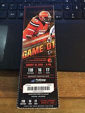 2016 CLEVELAND BROWNS VS CHICAGO BEARS TICKET STUB 9/1 TRAMON WILLIAMS