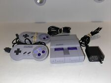 SNES Super Nintendo Classic Mini Super Entertainment System Tested and works