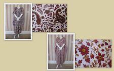 %  2 X New Floral Onesize 100% Cotton Plus Kaftan  Maxi  Tunic Beach (T1)