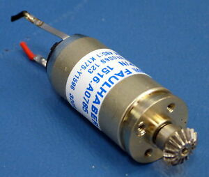 Faulhaber Coreless 1516 S 153K 485:1 6VDC Motor 1516.A0785 1516E006S 123