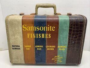 Extremely Rare Samsonite Demonstrator Case Salesman Sample 1950's