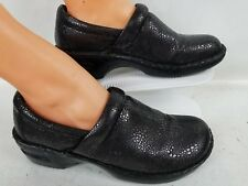 WOMENS BORN COMFORT GRAY CLOGS WORK SHOES SIZE 11M