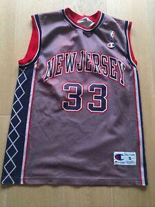 canotta basket New Jersey Nba Originale By Champion N. 33 Marbury