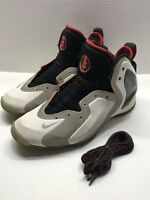 RARE🔥 Nike Lil Penny Posite White Reflect Silver Challenge Red Sz 9 630999-100