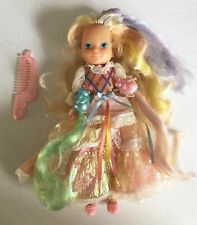 Lady Lovely Locks 1986 Doll Complete Original Dress, Shoes, Comb And Pixietails