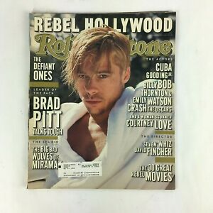 April 1997 Rolling Stone Magazine Brad Pitt talks tough Seven Whiz David Fincher