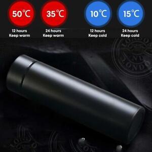 500ML Vacuum Thermos Bottle with Intelligent Temperature Display Vacuum Flasks