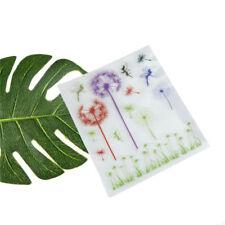 Romantic  Dandelion Grass Clear Stamps Scrapbooking Card Making Album  JX