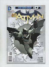 Batman #0 - The New 52! - (Grade 9.2) 2012