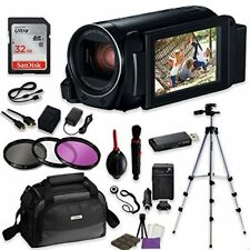 Canon VIXIA HF R800 Camcorder Video w/ Sandisk 32 GB SD Card + Accessory Bundle