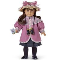 American Girl Doll SAMANTHA'S BIRD WATCHING OUTFIT + BINOCULARS Hat Cards AG BOX