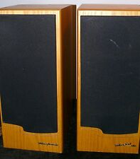 VINTAGE PAIR STEREO SPEAKERS WARFEDALE EMERALD EM 93