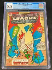 Justice League of America #18 CGC 5.5 1963 Wonder Woman Flash Aquaman A155