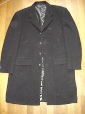 TAKE A LOOK manteau noir taille 54  Laine et Cashemire
