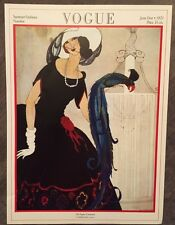 Vintage Vogue Magazine Poster June 1st, 1921 Authorised 1970's Reprint 39x28cm12