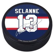 Teemu Selanne #13 Winnipeg Jets Souvenir Player Puck w/Replica Signature