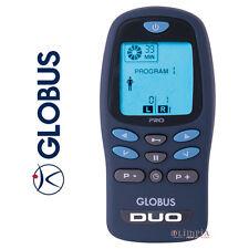 Globus DUO PRO - Elettrostimolatore PALMARE 35 prog. +8 ELETTRODI OMAGGIO
