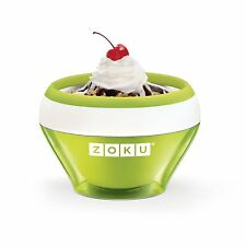 Zoku Ice Cream Maker Slush Yogurt Makers Sorbet Green