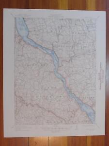 McCalls Ferry Pennsylvania 1948 Original Vintage USGS Topo Map