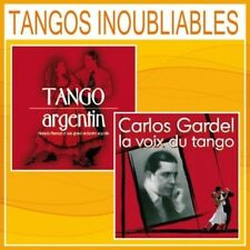 CD Tangos inoubliables - Tango argentin + Carlos Gardel / 2 CD Box Set / IMPORT