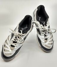 Mizuno Wave Rally 5 Size 8.5 Women's Volleyball Shoes Sneakers White and Black