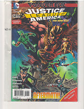 JUSTICE LEAGUE OF AMERICA #14 COMBO PACK NEW 52, NM (May 2014, DC Comics)