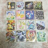 Pokemon Shikishi ART 2 All 16 type Complete Ho-oh pikachu Lugia Horo Rare Japan